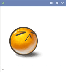 Snooty Facebook Emoticon