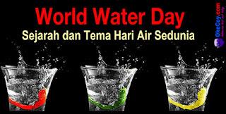 Sejarah dan Tema Hari Air Sedunia (World Water Day)