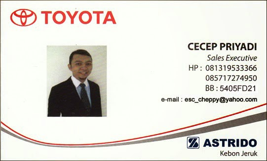 Astrido Toyota Kebon Jeruk - Jakarta Barat
