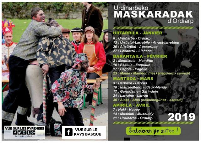 La mascarade souletine Pays Basque 2019