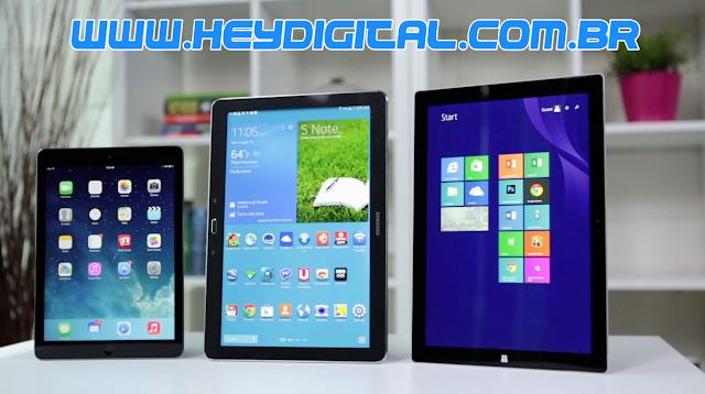 As melhores marcas de tablet do mercado