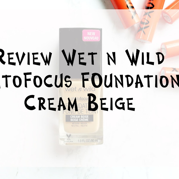 Review Wet n Wild Photofocus Foundation - Cream Beige