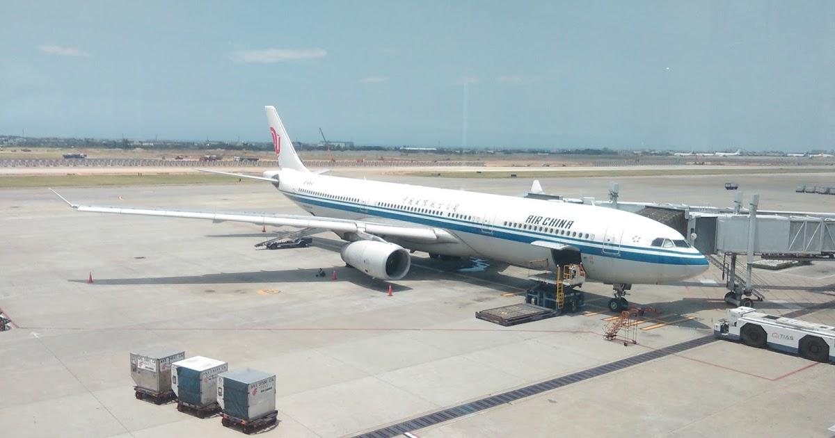 許自己一個飛行的夢: [中國國際航空] 270715 CA186 臺北-北京 (TPE-PEK) + 桃園機場第二航廈新加坡航空銀刃貴賓室 ...