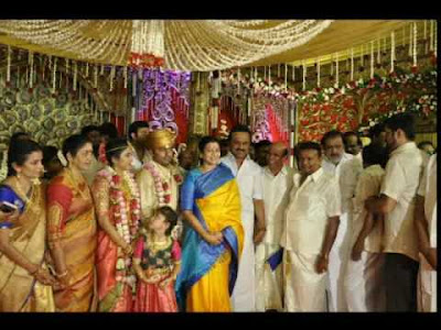 Actor-Chandrasekars-Daughter-Marriage-held-in-Palani4
