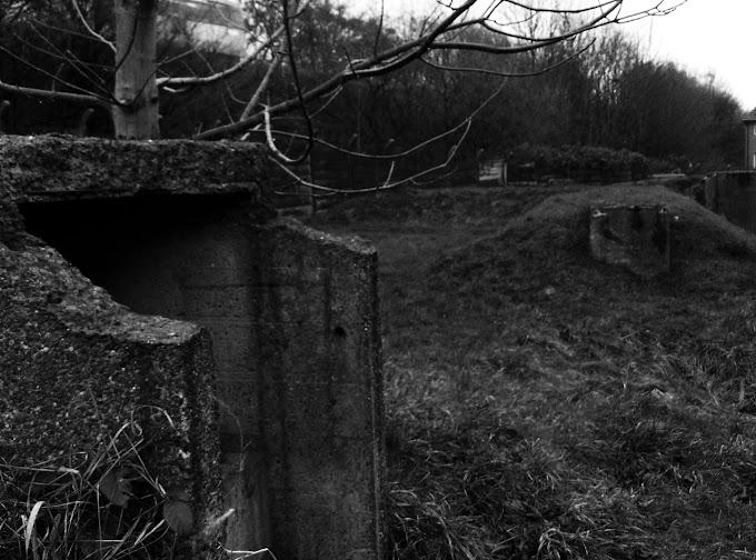 Air Raid Shelters Chadderton Mill