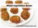 Mixed VegetableBonda Snack