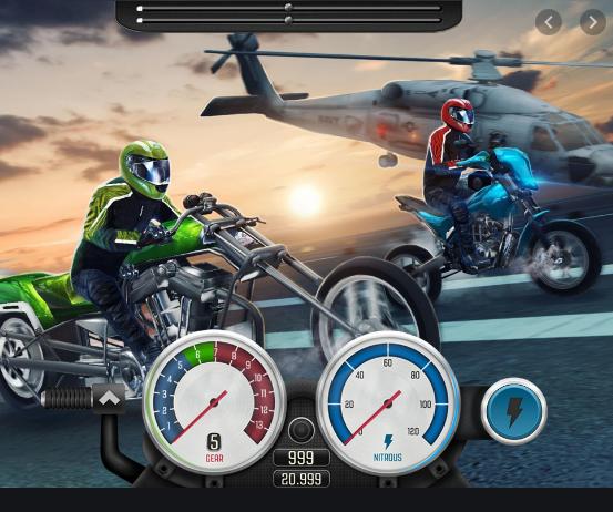 Game nài xe độ giống Drag King nhưng đẳng cấp hơn nữa dành cho Racing Boy - Top Bike