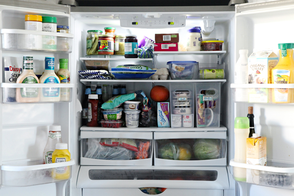 Organized Counter Depth Fridge Amp Freezer Drawer With Tips