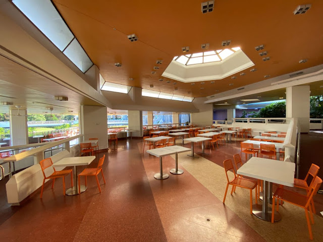 Disney Magic Kingdom Reopening Preview, Relaxation Station at Tomorrowland Terrace, New Safety Precaution and Social-distancing Practice