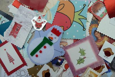 Preparing for Christmas crafting
