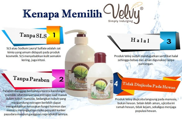 Kenapa Memilih Produk Velvy
