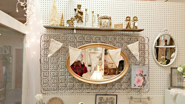 New Booth Space At Uptown Antiques Little Vintage Cottage