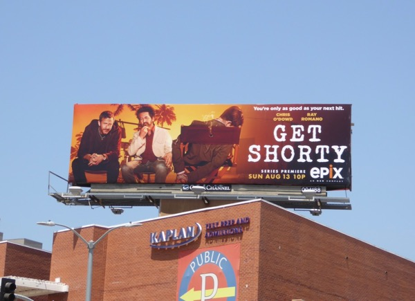 Get Shorty TV remake billboard
