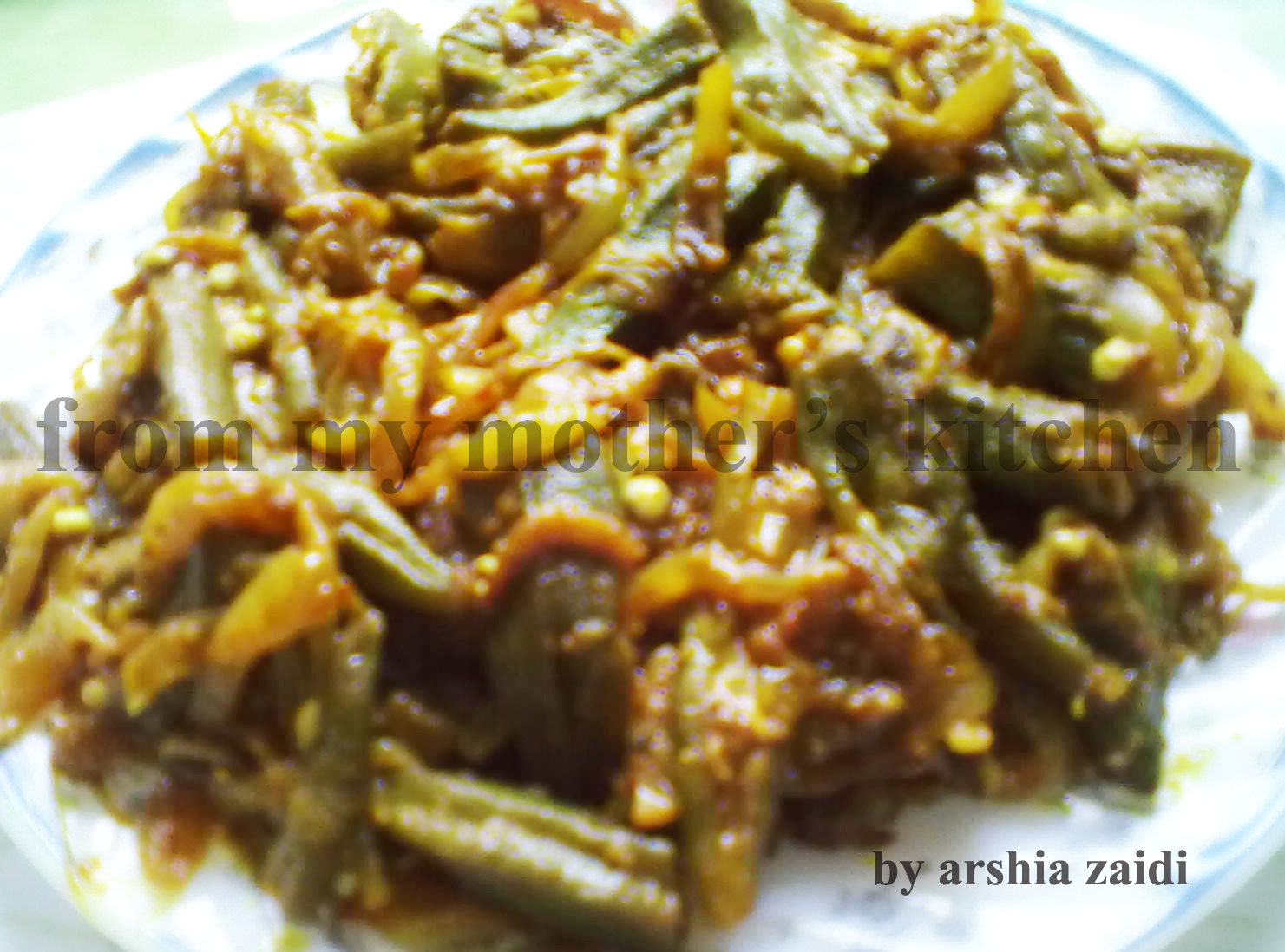 best Indian dishes, masale wali bhindi, masala bhindi,