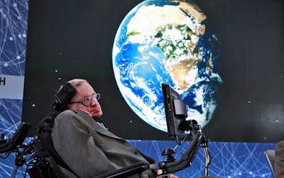 Homenagem a Stephen Willian Hawking o maior cientista do nosso tempo
