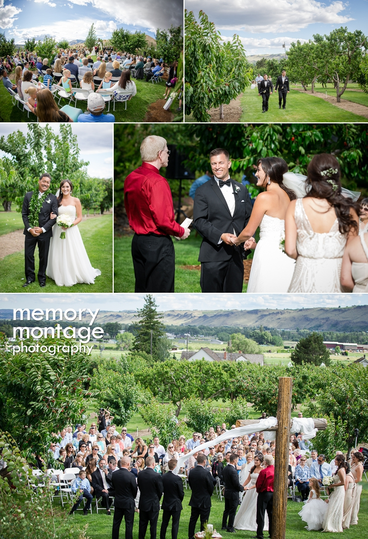 Beautiful Backyard Wedding in Naches || Savannah + Louis