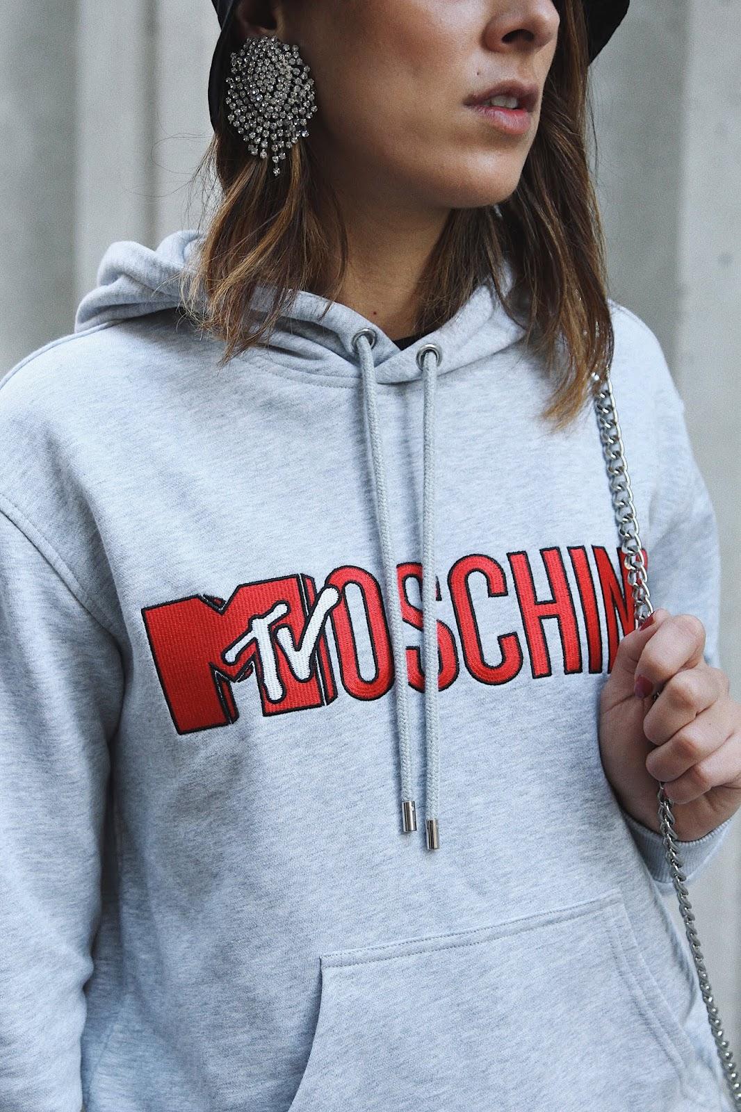idée de look issue Moschino X h&M et bob