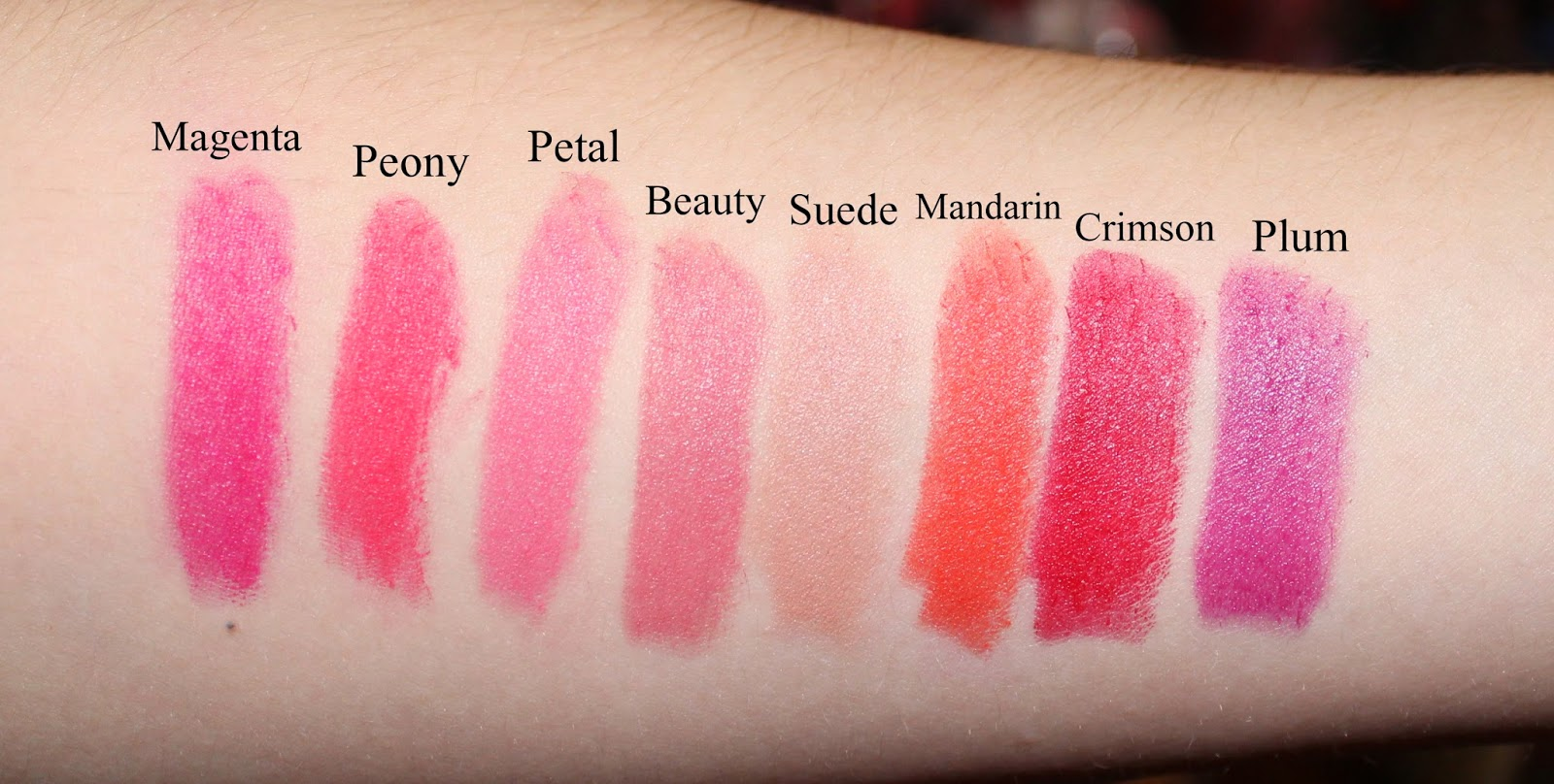 Clinique Long Last Soft Matte Lipstick Swatches