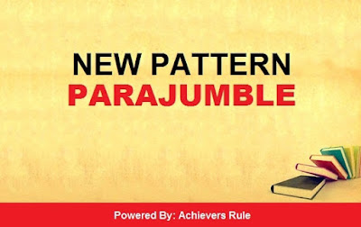 New Pattern English Parajumble