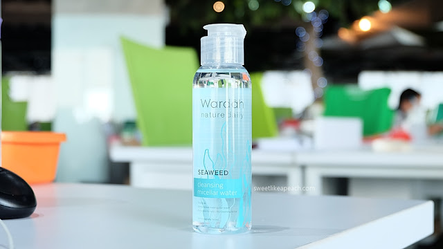 Review Wardah Seaweed Cleansing Micellar Water