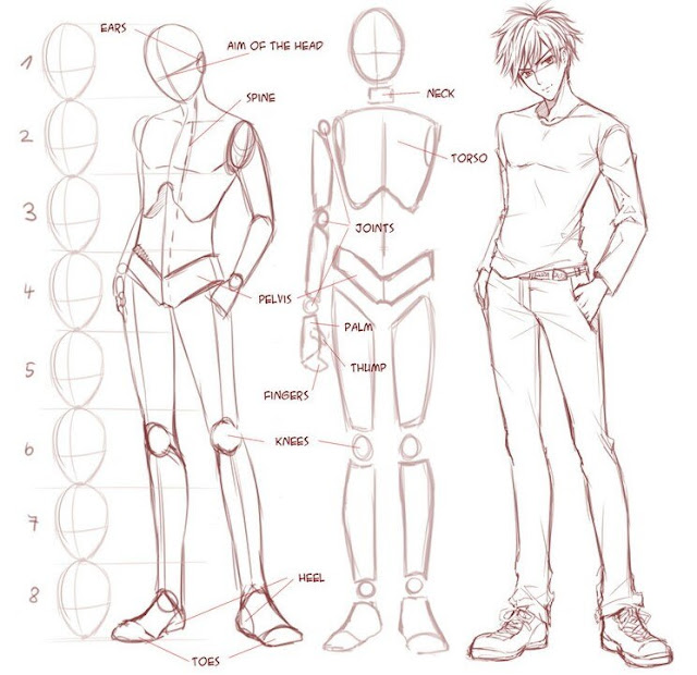 тел аниме картинки