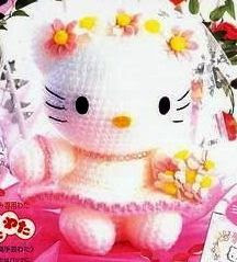 PATRON HELLO KITTY NOVIA AMIGURUMI 71