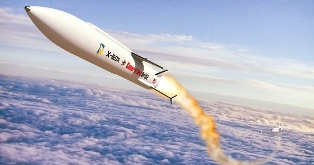 Rendering of the X-60A launching from a NASA C-20A. Credit: USAF