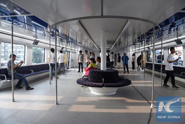 bus anti macet china