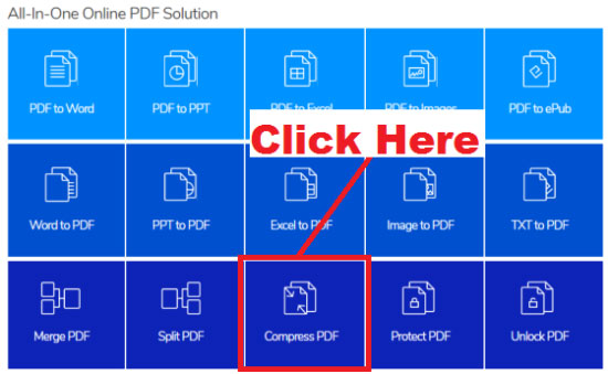 How To Compress PDF Files Online For Free