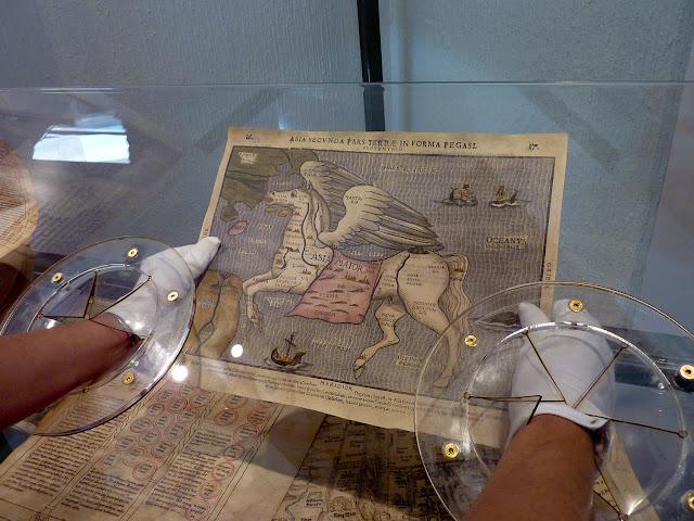 Manipulando mapas antiguos