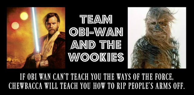 Team Obi-Wan and the Wookies: Finalists