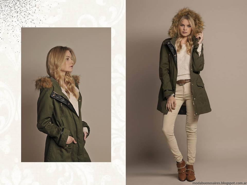 Looks de moda otoño invierno 2016 Zhoue ropa de mujer.