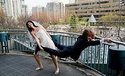 Hochzeits Paar lustig - Bloß nicht heiraten