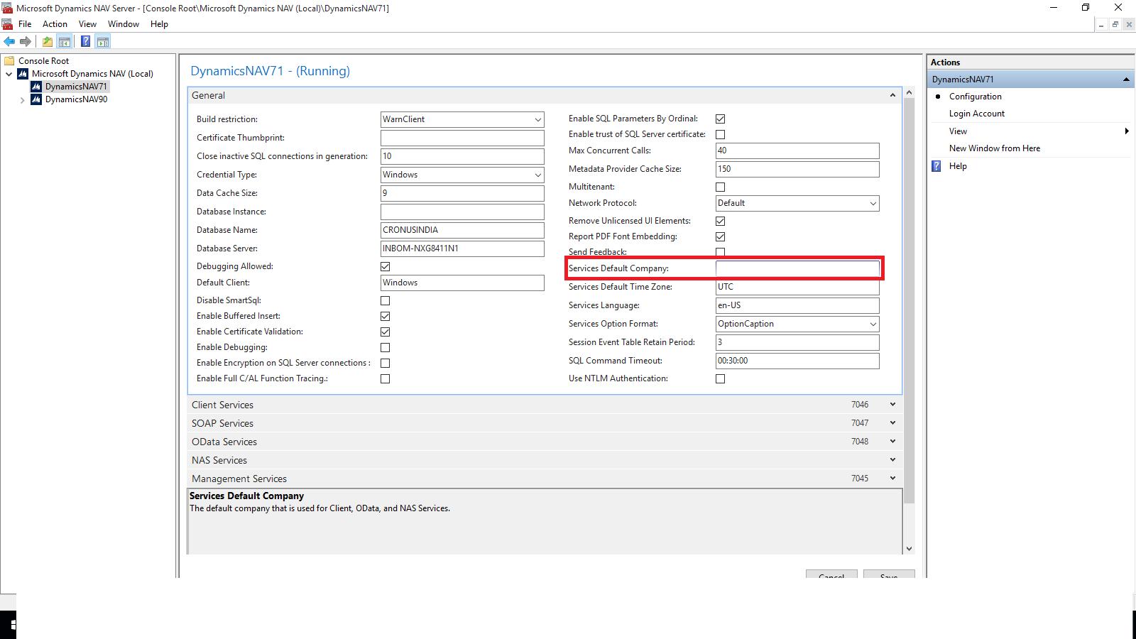Nandesh gowda default company when using nav client odata nas microsoft dynamics nav 2013 r2 administration window 1betcityfo Images