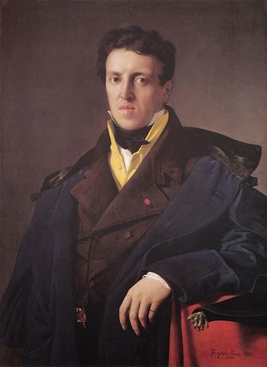 Charles-Marie-Jean-Baptiste-Marcotte - Ingres e suas principas pinturas ~ Neoclassicismo