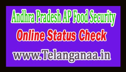 Andhra Pradesh AP Ration Card Food Security Card Online Details epdsap.ap.gov.in