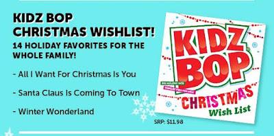 One Momma Saving Money: Make it a Kidz Bop Christmas! #ThinkChristmas