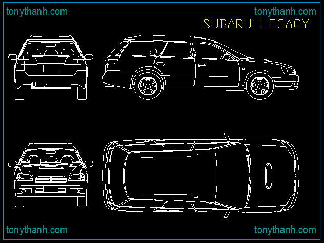 Seat leon top view block autocad online cad drawing dwg sample ...