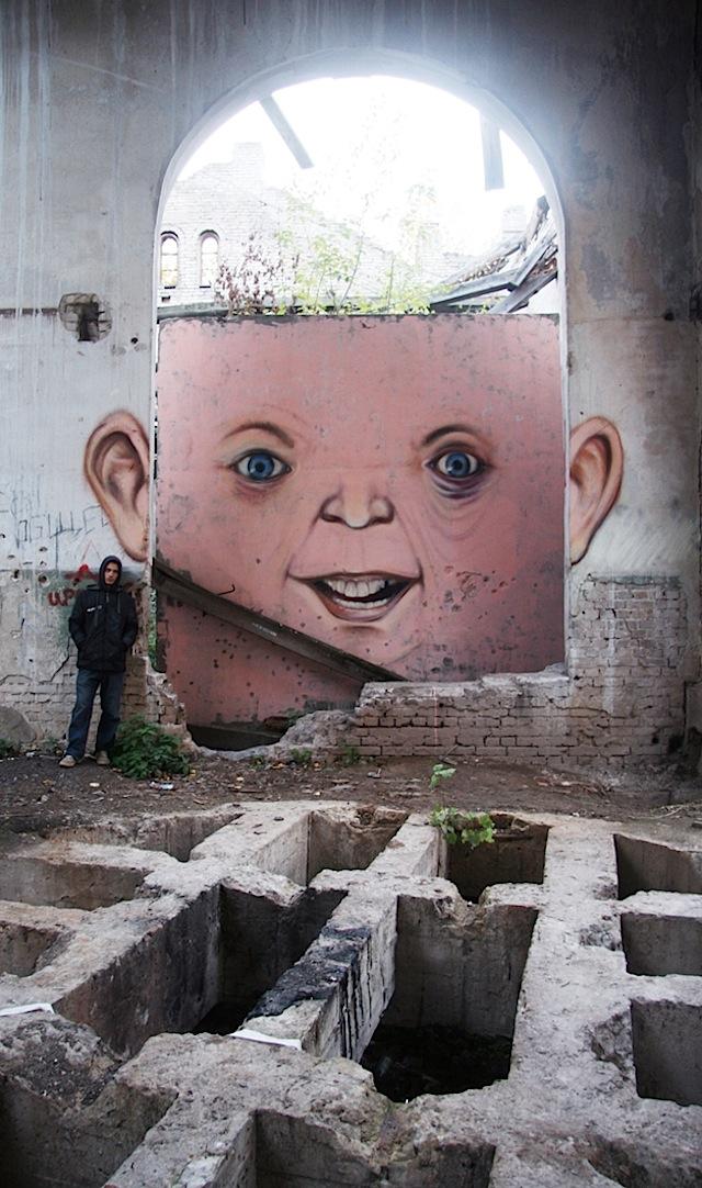Художник граффити из России, Никита Nomerz 23
