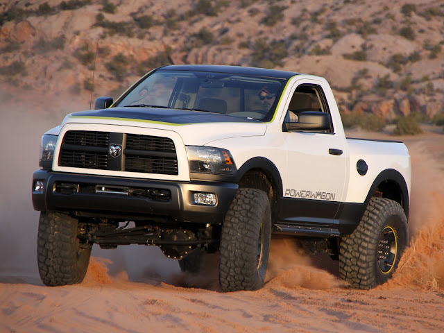 Dodge Ram Power Wagon Mopar Concept