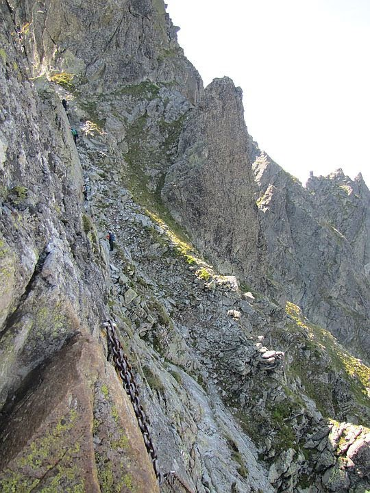 Północna ściana Buczynowych Czub.