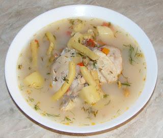 ciorba de fasole verde cu carne de pui, retete culinare, ciorbe, borsuri, ciorba de pui, ciorba de legume,