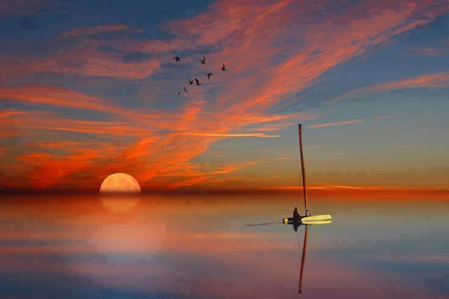 Painting: Beautiful photos of sunsets, Photographic Arts