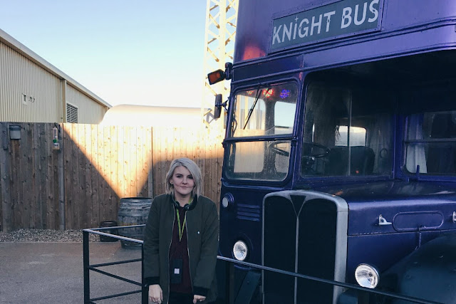 photo of the Knight bus and I