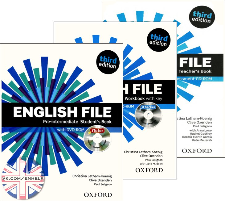 English File Third Edition 3 Pre Intermediate Oxford