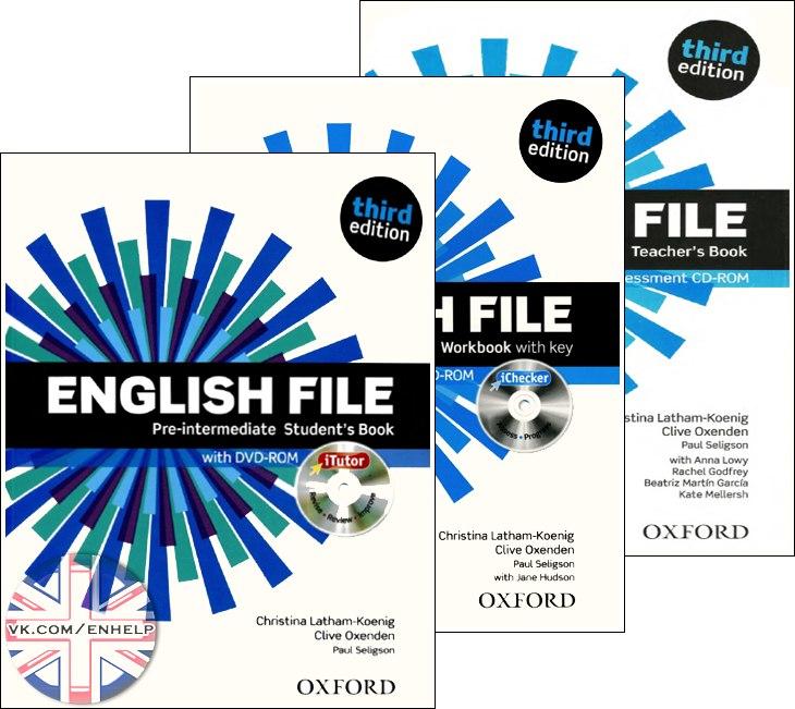 English File Third Edition 3 Pre Intermediate Oxford