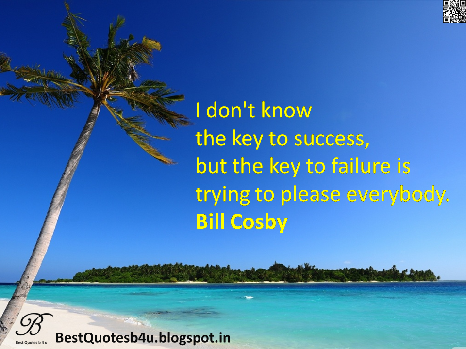 Best English Inspirational Life Quotes about Success n failure with images and wallpapers by Bill Cosby