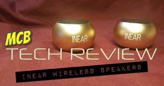 MCB Tech Review - Mini Wireless Speakers