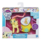 MLP Royal Spin-Along Chariot Fluttershy Brushable Pony