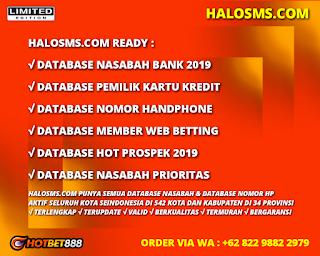 Download Gratis Database Nasabah 2019